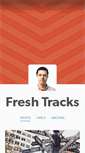 Mobile Preview of freshtracks.us